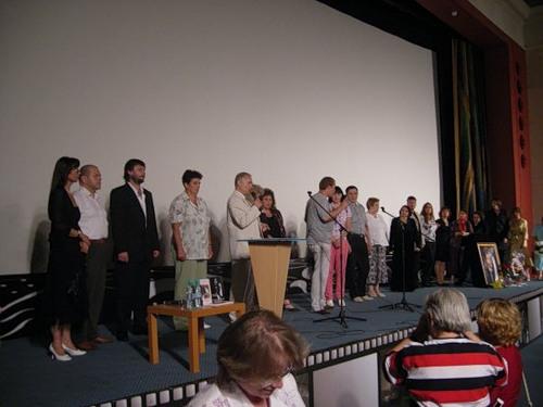 коллективное фото участников концерта
