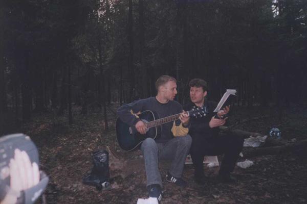 в Измайловском парке, 2005 г.