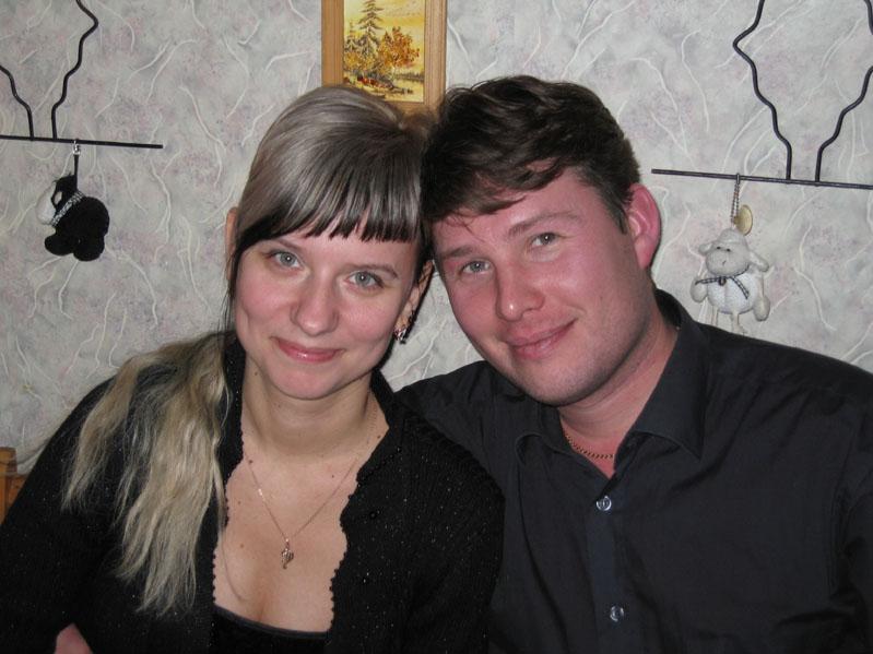 Игорь и Ульяна Куликовы, 9-я Парковая, 2006г.