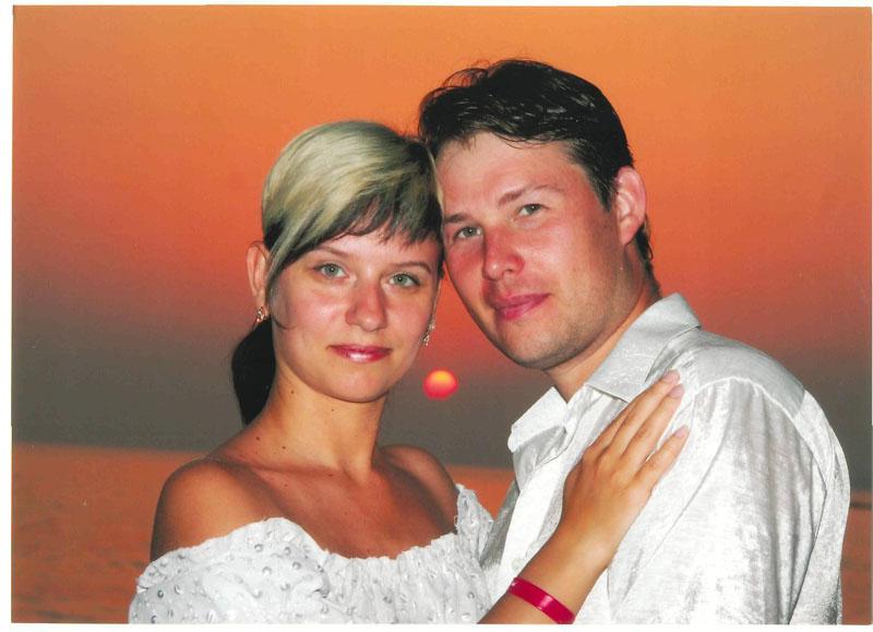 Игорь и Ульяна Куликовы, Турция, 2006 г.