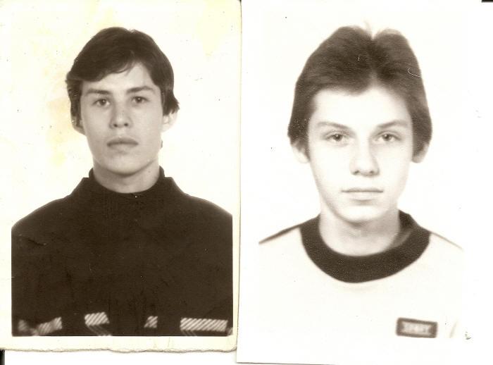 Игорь Куликов и Алексей Горячев, 1989 г.
