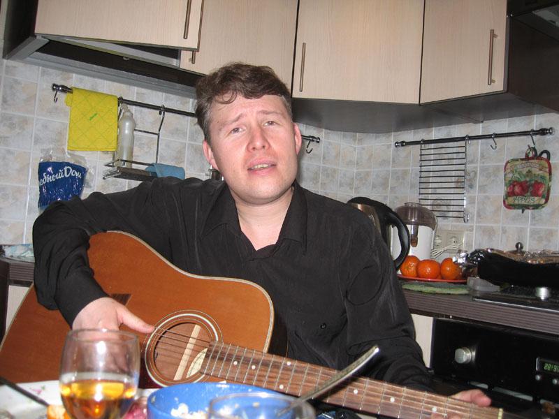 Квартирник на 9-й Парковой, днюха Алексея Горячева, 2010г.