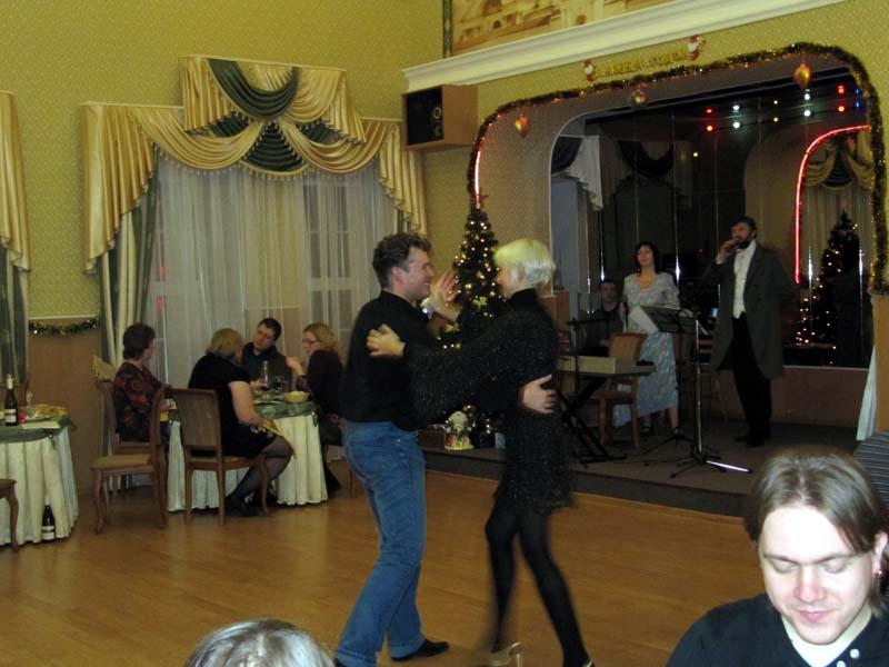 """Танцы, отель """"Лионъ"""", январь 2012г."""
