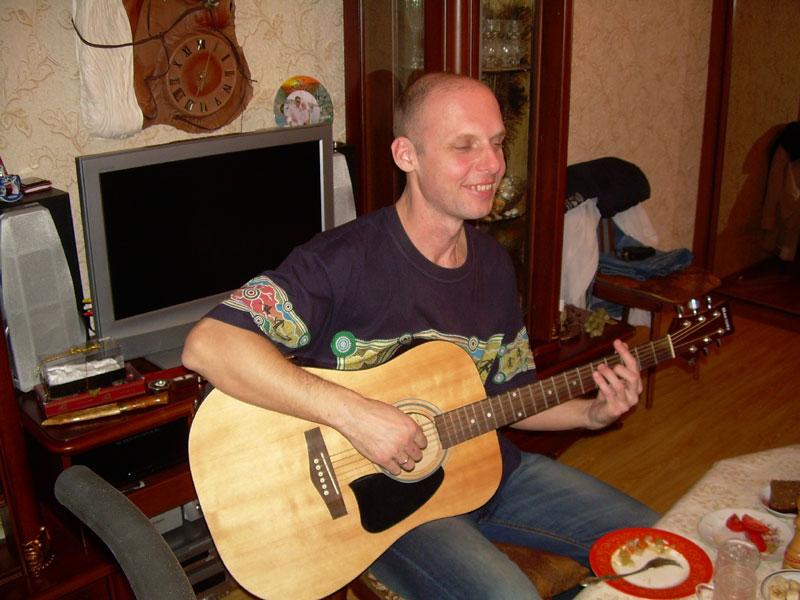 Алексей, квартирник на Реутовской, 2014г.