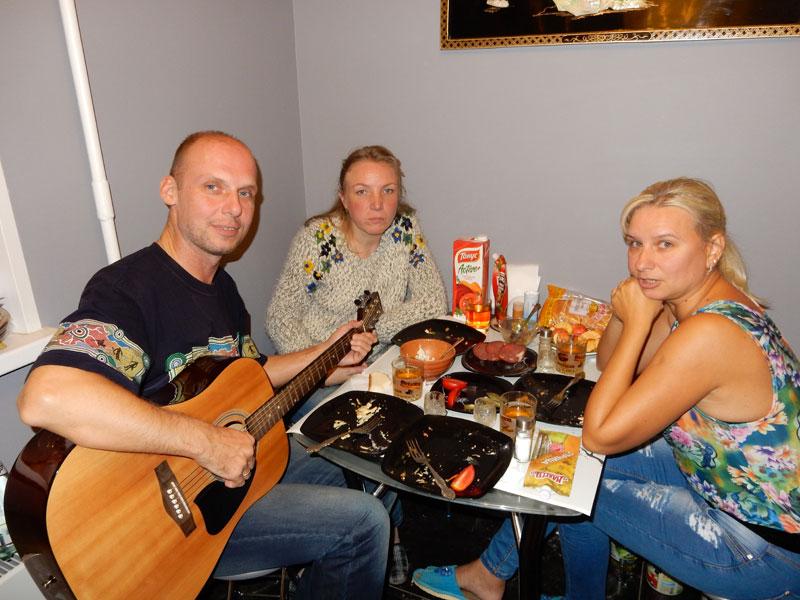 Квартирник на Реутовской, сентябрь 2015г.