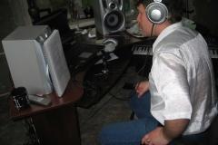 И.Куликов в студии, 2008 г.
