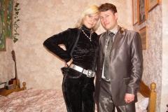 Ульяна и Игорь Куликовы, годовщина свадьбы, 2009г.
