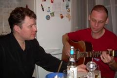 день рождения А.Горячева, квартирник, 2010г.