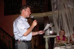 на свадьбе Александра Линника, лето 2010г.