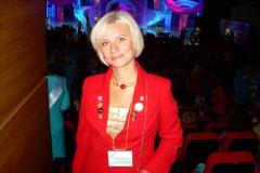 """Ульяна на корпоративном вечере-концерте компании """"Mary Kay"""" в Крокус Сити Холле, ноябрь 2012г."""