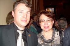 Игорь и Татьяна Гераськина в ЦДЛ, 21 марта 2013г.