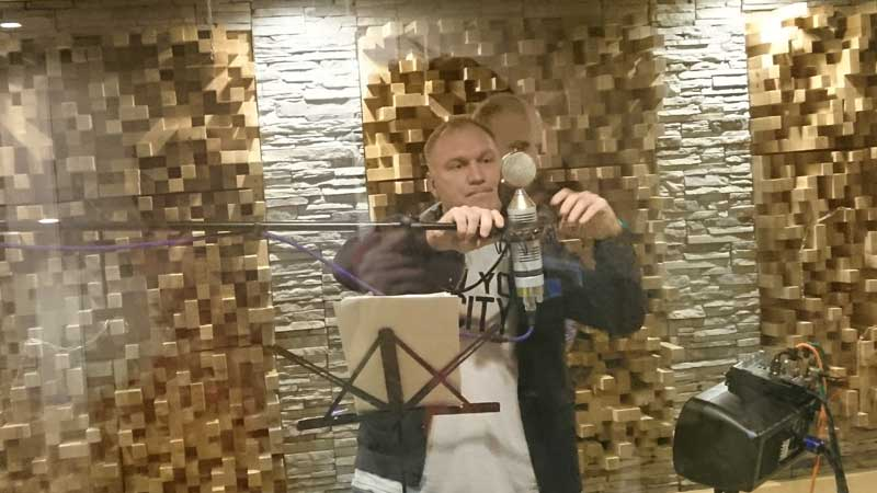 В студии АВС